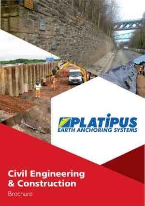 Platipus Civil Engineering & Construction Brochure cover