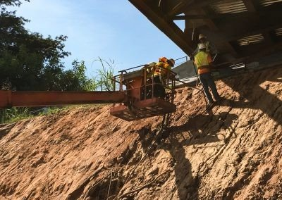Winston Salem State University Slope Stabilisation – USA