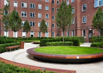 Orchard Lisle Courtyard, London – UK