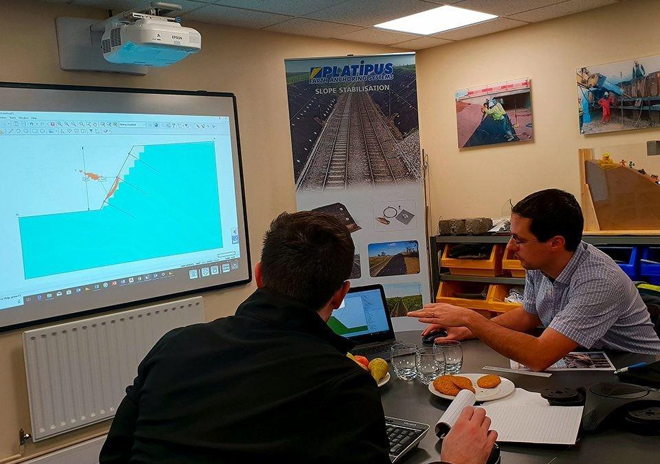 Swiss Engineers Anteq visit