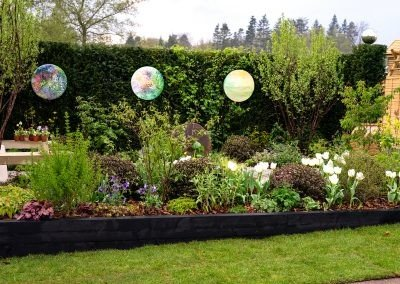 Perennial Garden - Harrogate - bushes and shrubs