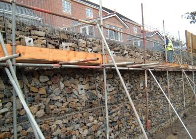 Gabion Support (Permanent)