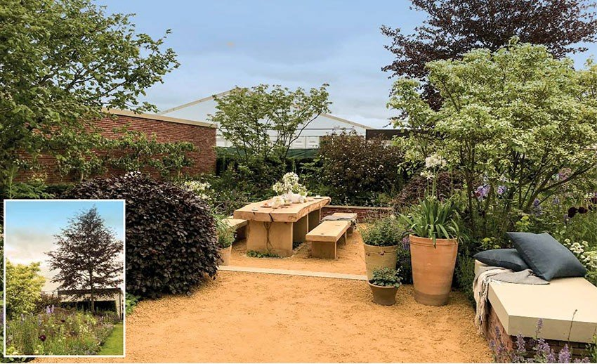 RHS Chatsworth House - Wedgewood garden
