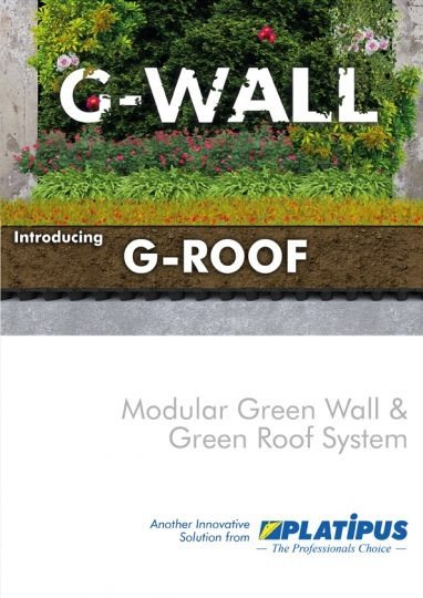 Platipus G-WALL & G-WALL brochure cover