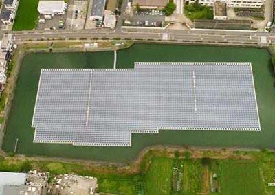 Ootsuda Ike Floating Solar Park