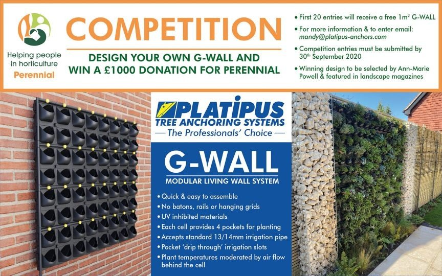 Platipus G-WALL Competition  for Perenial