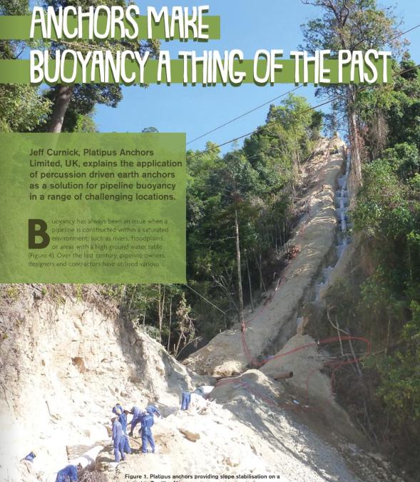 World Pipelines Magazine Article