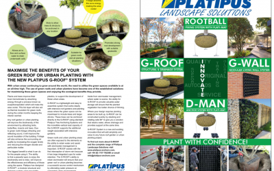 We are thrilled to have an article in Landscape & Urban Design magazine