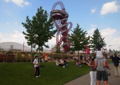 London Olympics row of trees