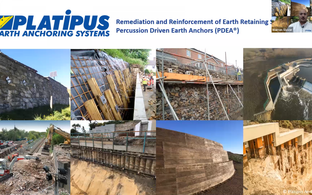 Fantastic attendance at today's webinar: 'Remediation and Reinforcement of Earth Retaining Structures
