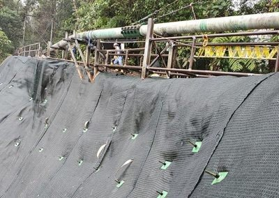Secondary Pipeline at km 108, Ecuador