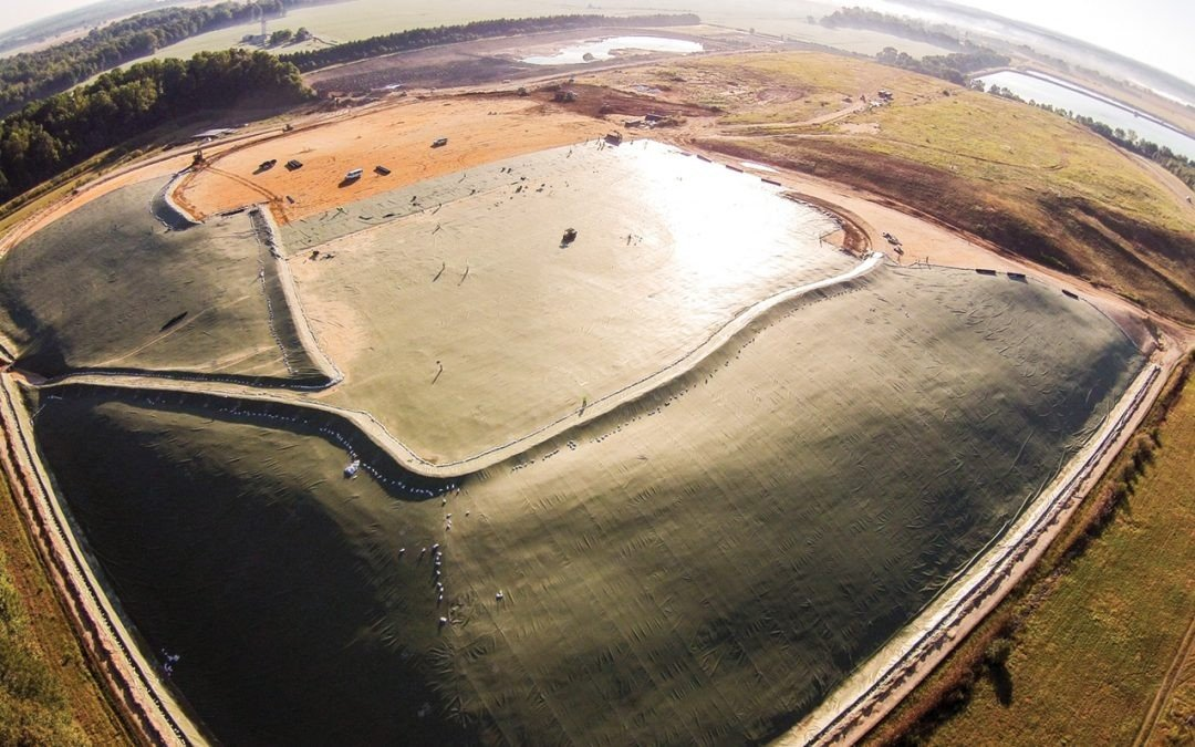 The 175 acre Midshore 1 closed in 2010. The landfill was covered with an Exposed Geomembrane Cover