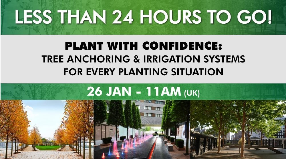 Less than 24hrs to go until our tree systems webinar