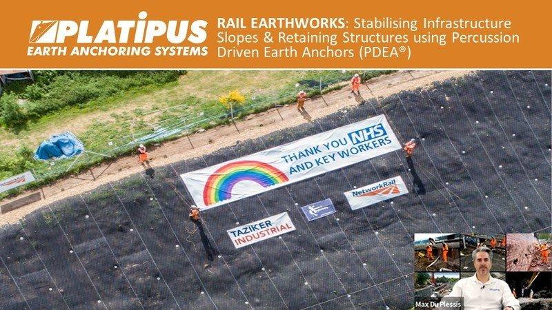 Rail Earthworks Webinar Banner