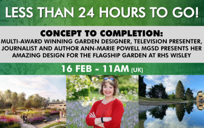 Less than 24hrs to our Webinar: Concept to Completion